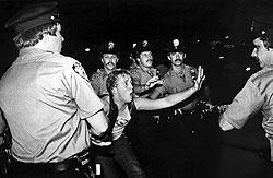Stonewall Riots, Photo by Bettye Lane