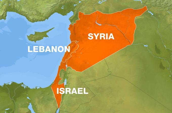 lebanon-syria-map