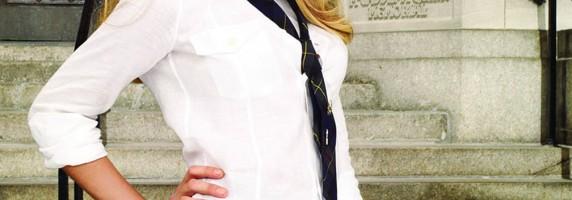 Blake Lively - Schoolgirl Uniform