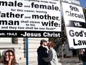 Prop 8 Religious Signs